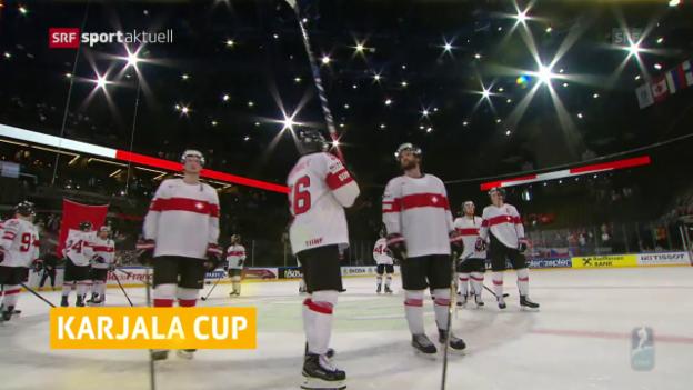 Video «Nati am Karjala Cup dabei» abspielen