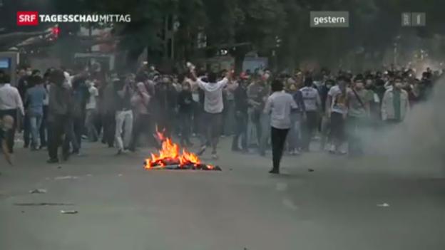 Video «Zweiter Demonstrant stirbt bei Protesten in der Türkei» abspielen
