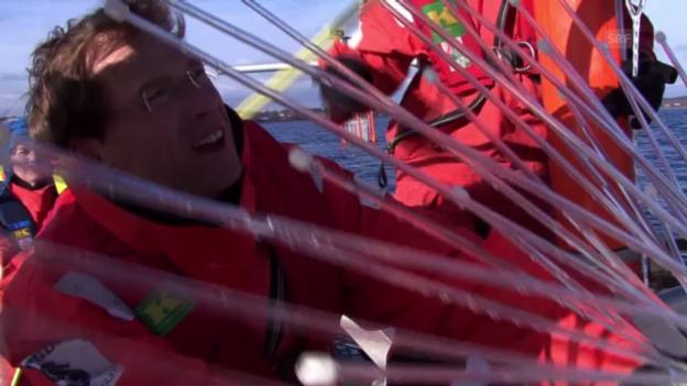 Video «Ulf Riebesell gibt über die «Spinne» CO2 in einen Mesokosmos» abspielen