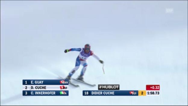 Video «Ski-WM: Rückblick Garmisch-Partenkirchen 2011» abspielen