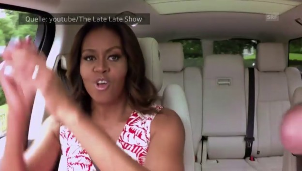 Video «Michelle Obama rappt» abspielen