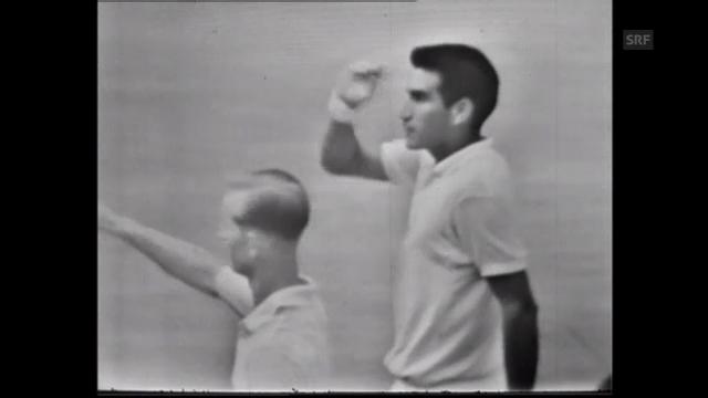 Tennis: Alex Olmedo siegt 1959 in Wimbledon (unkommentiert)
