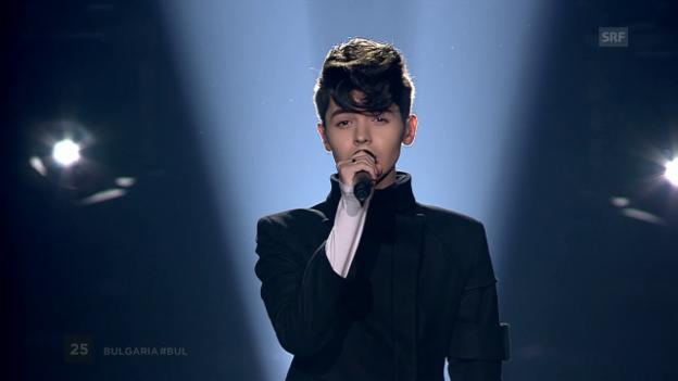 Video «Platz 2: Bulgarien mit Kristian Kostov und «Beautiful Mess»» abspielen