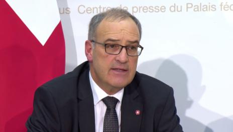 Video «Bundesrat Parmelin zur erweiterten Überwachungen» abspielen