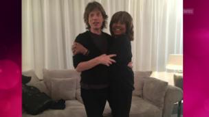 Video «Mick Jagger trifft Tina Turner in Zürich» abspielen