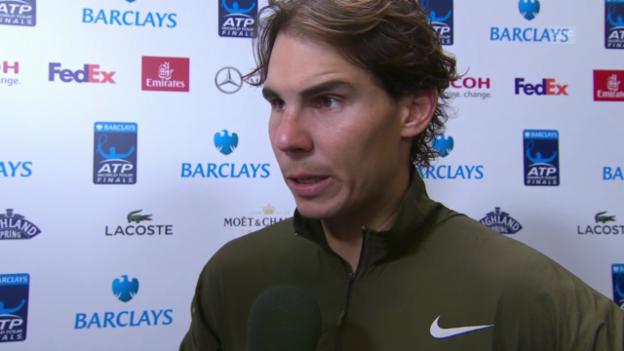 Video «Nadal im Interview (englisch)» abspielen