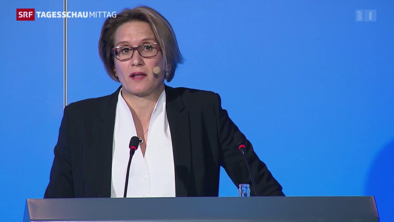 Die erste Frau der SNB