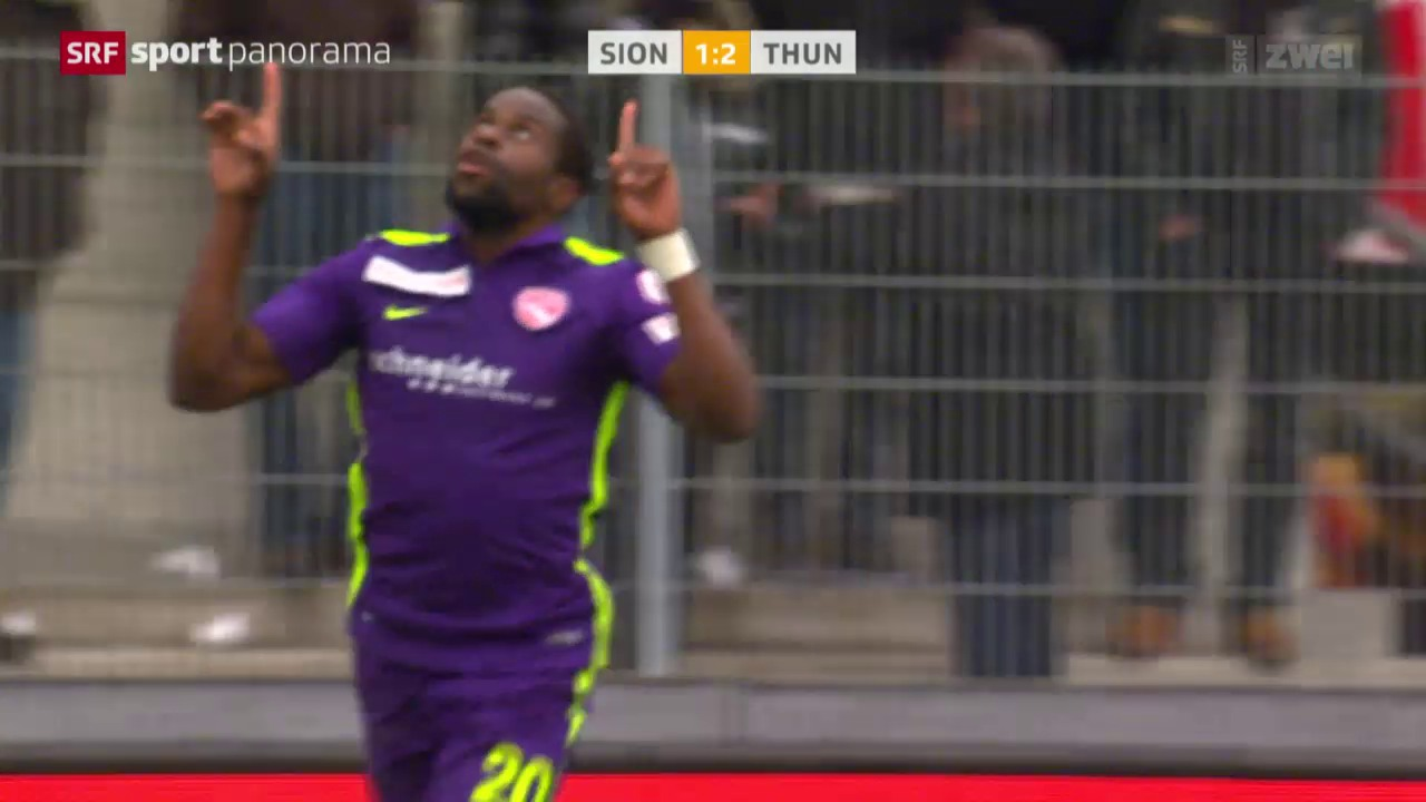 Fussball: Sion - Thun