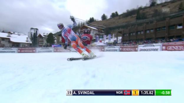 Video «Ski: Svindals Siegesfahrt in Gröden («sportlive» vom 20.12.13)» abspielen