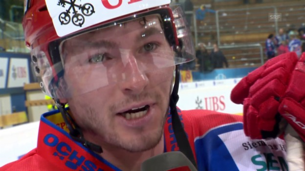 Video «Eishockey: Interview mit Jokerits Kozun» abspielen