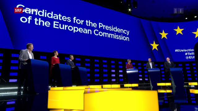 Europa: TV-Duell: Timmermans und Weber für Ende von Kurzflügen