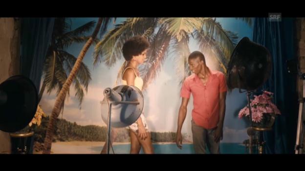 Video «Grigris lernt Mimi kennen (Ausschnitt aus «Grigris»).» abspielen