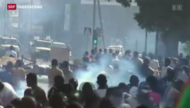 Video «Aufstand gegen Putschisten» abspielen