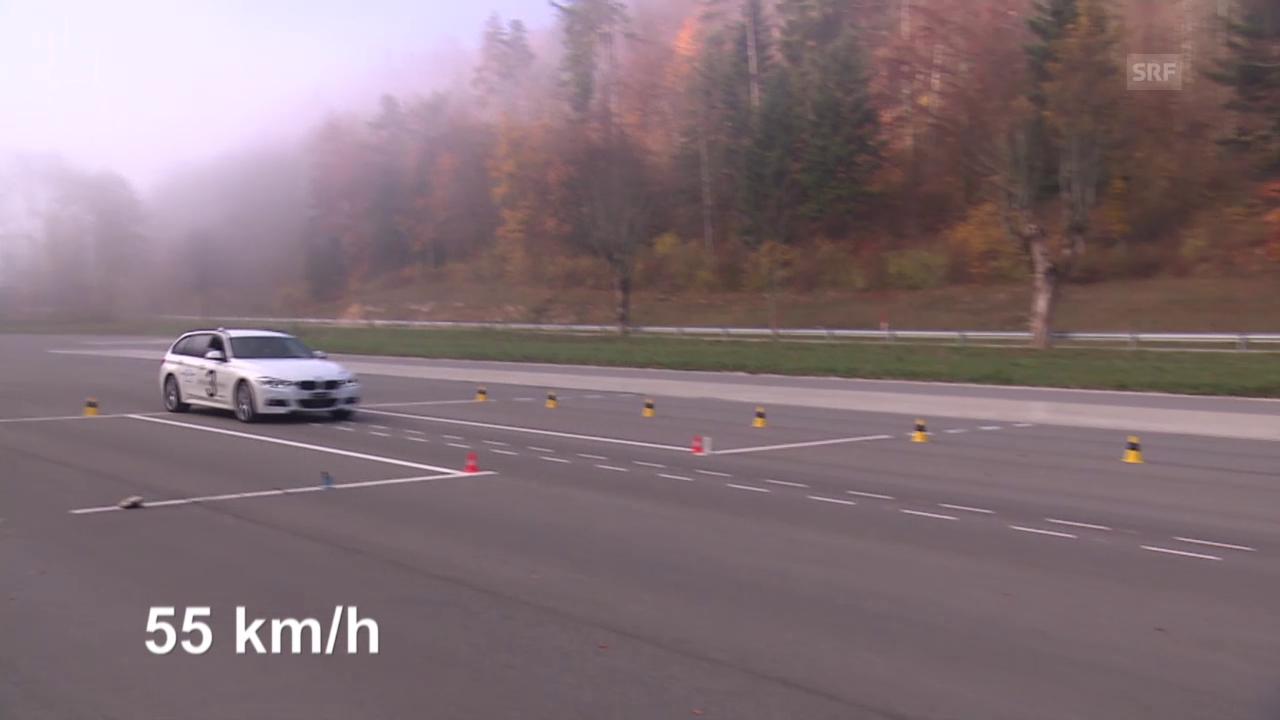 Messung BMW ausserhalb der Norm (55 km/h)