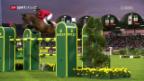 Video «Schweizer Springreiter verpassen in Aachen das Podest» abspielen