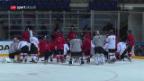 Video «Die Schweizer Nati vor dem kapitalen Tschechien-Spiel» abspielen