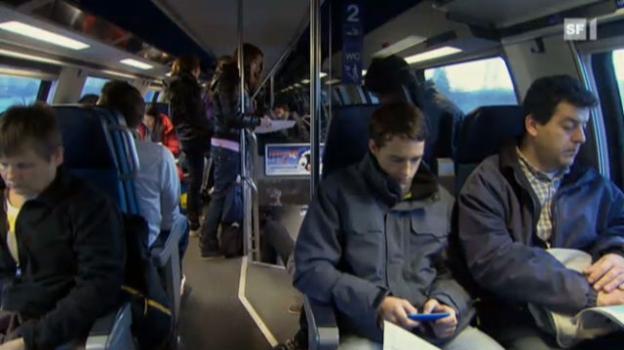Video «SBB-Umfrage: Das ärgert die Bahnfahrer» abspielen