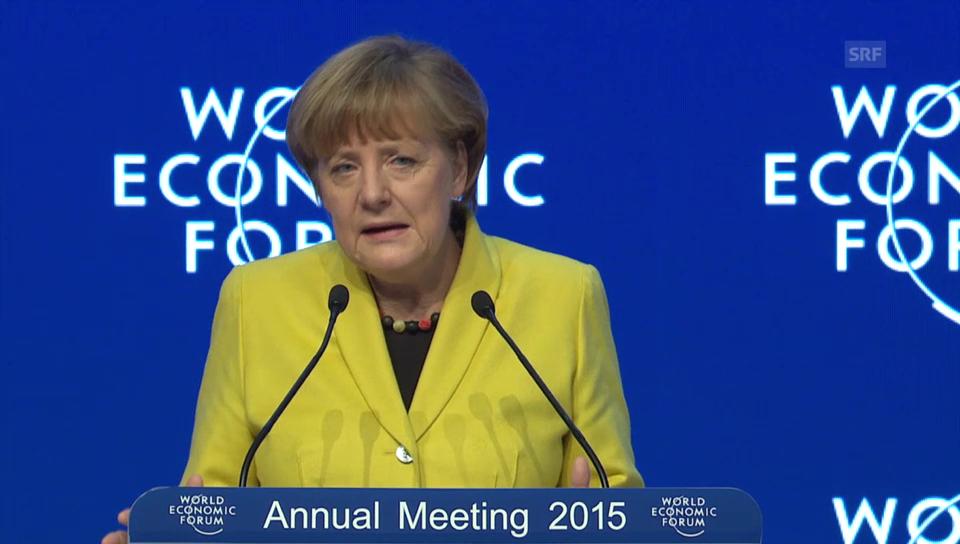 Angela Merkel über EZB