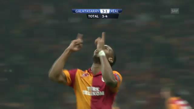 Fussball: Galatasaray - Real Madrid
