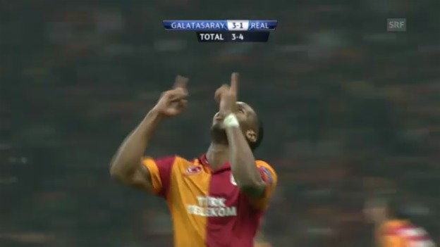 Video «Fussball: Galatasaray - Real Madrid» abspielen
