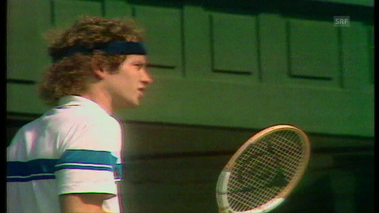Das legendäre «You cannot be serious!» von McEnroe