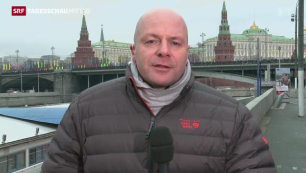 Video «SRF-Korrespondent Christoph Wanner zur Wirtschaftssituation» abspielen