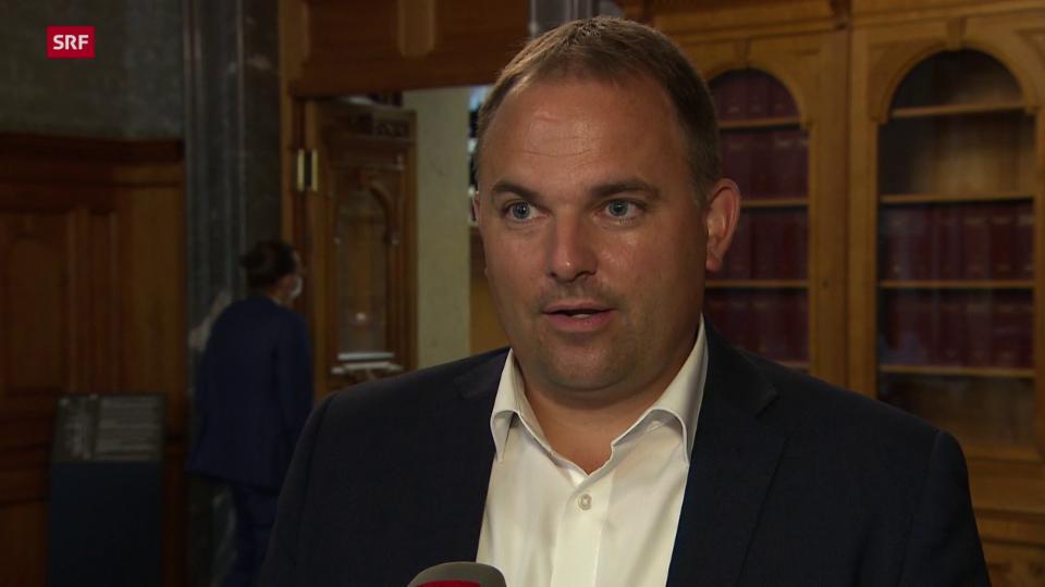Marcel Dettling, Nationalrat SVP/SZ: «Wir merken, dass die Leute sich an jemanden klammern, der ihre Meinung vertritt.»