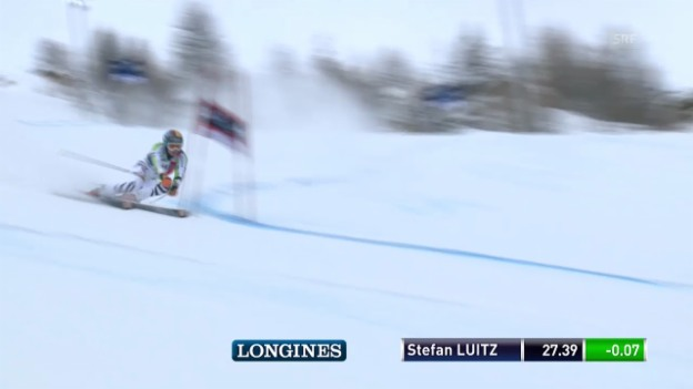 Video «Der 1. Lauf von Stefan Luitz» abspielen