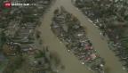 Video «Grossbritannien weiterhin unter Wasser» abspielen