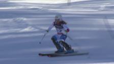 Video «Ski alpin: WM 2015 in Vail/Beaver Creek: Super-Kombi Frauen, Slalom, Lara Gut» abspielen