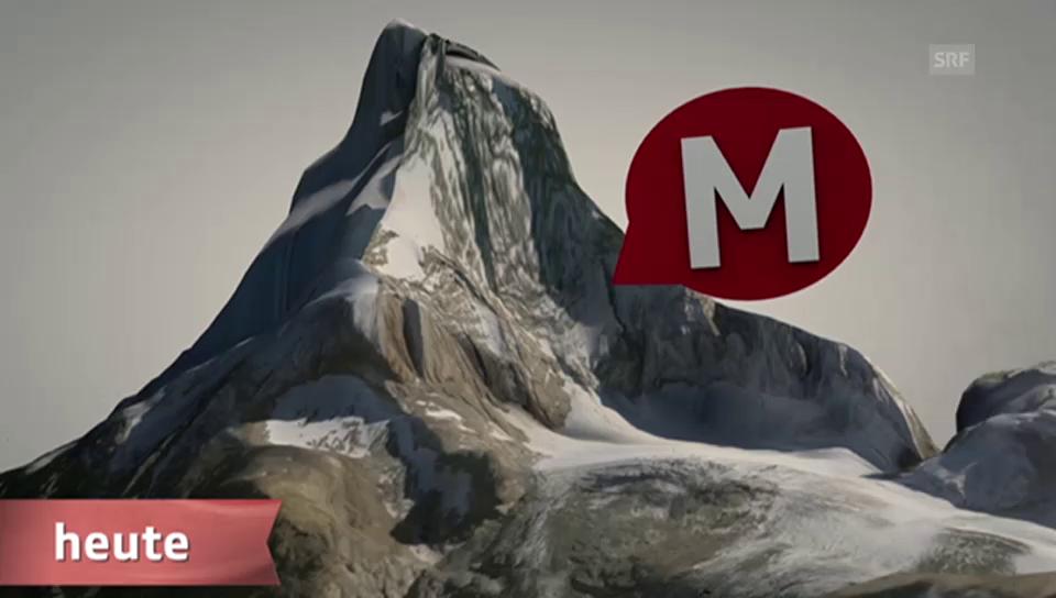 Warum das Matterhorn zu Afrika gehört (Animation)