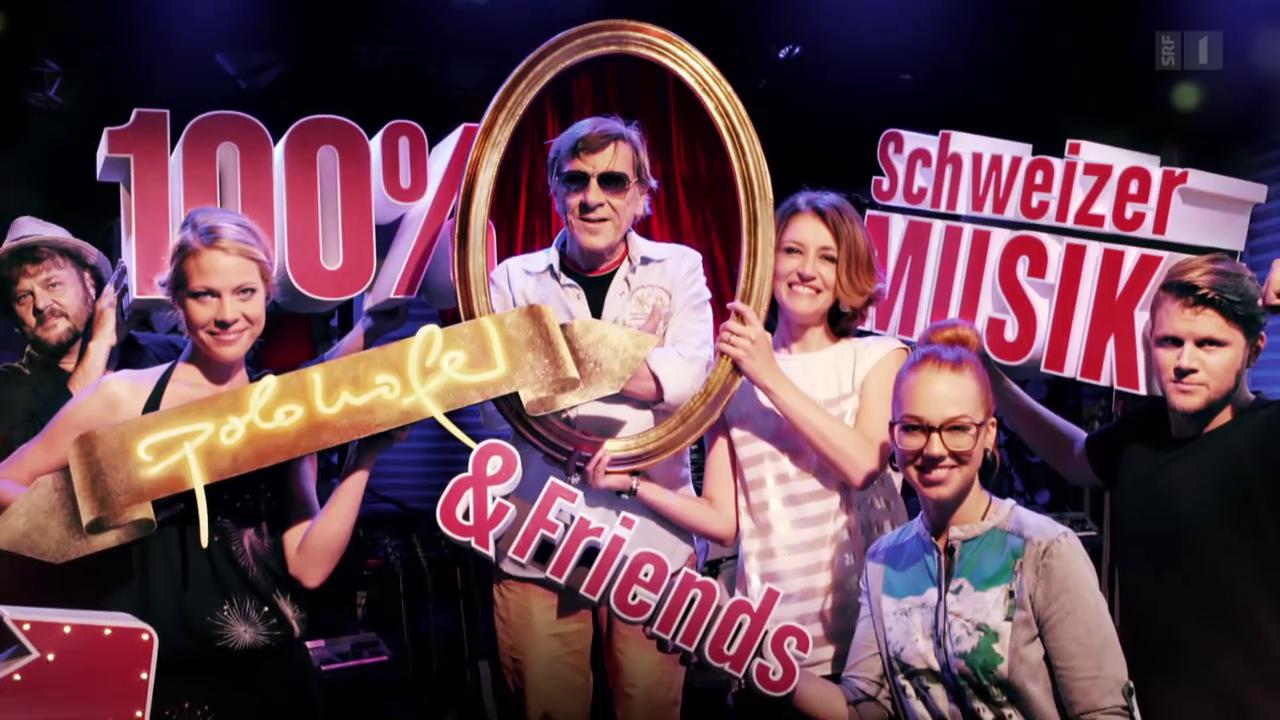 «100% Schweizer Musik – Polo Hofer & Friends»