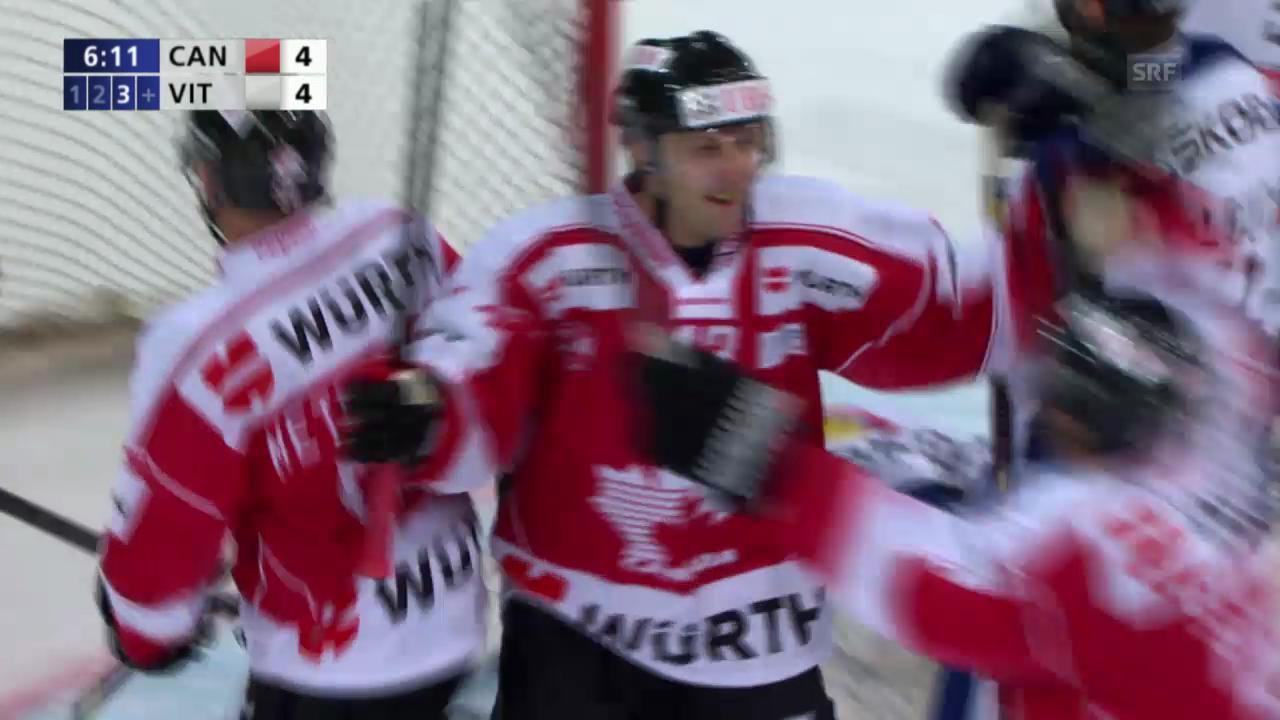 Eishockey: Spengler Cup, Highlights Team Canada - Vitkovice («sportlive», 26.12.2013)