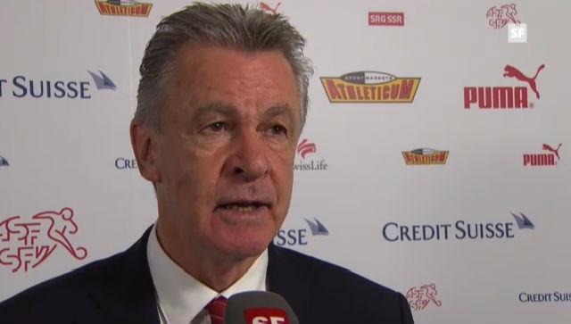 Schweiz-Albanien: Interview mit Ottmar Hitzfeld