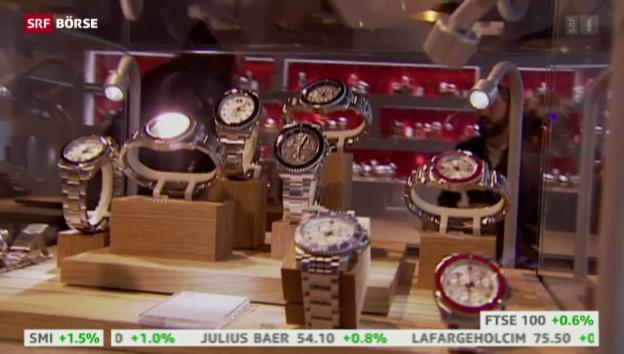 Video «SRF Börse vom 16.07.2015» abspielen