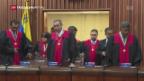 Video «Politische Krise in Venezuela» abspielen