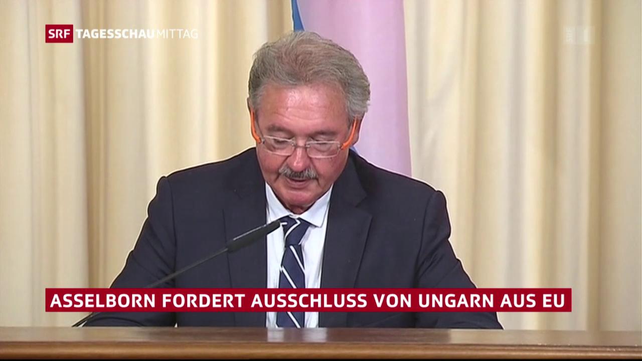 Asselborn will Ungarn aus EU ausschliessen