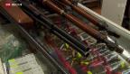 Video «Umstrittene Nachregistrierung von Waffen» abspielen