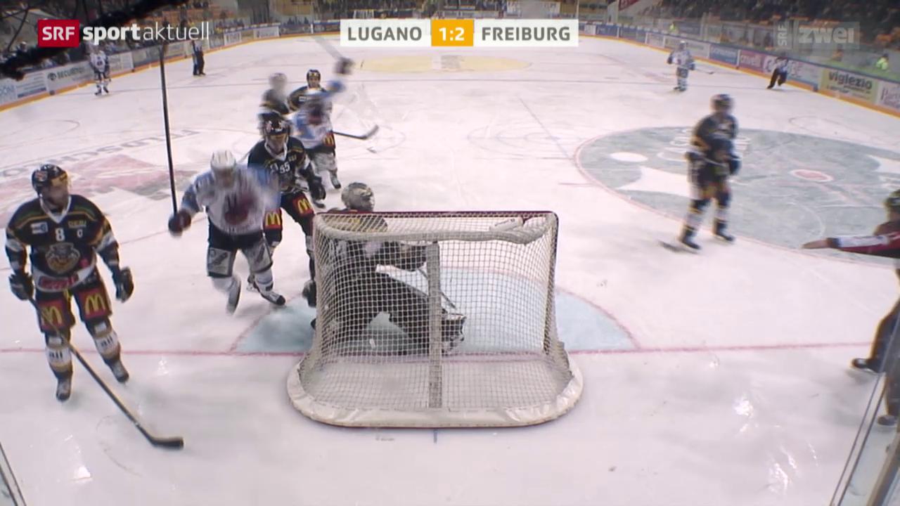 Eishockey: Lugano-Freiburg