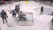 Video «Eishockey: Lugano-Freiburg» abspielen