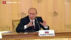 Video «Putin warnt US-Bürger vor Militärschlag» abspielen