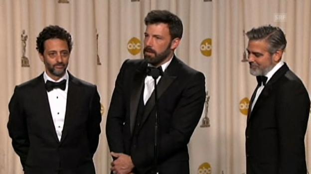 Video «Nach Oscars: Ben Affleck scherzt» abspielen