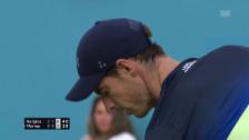 Link öffnet eine Lightbox. Video Murray unterliegt Kyrgios abspielen