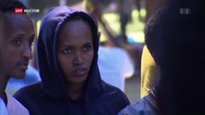 Video «FOKUS: Eritreer umgehen die Schweiz» abspielen