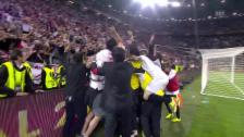 Video «Fussball: Europa League, Final Sevilla-Benfica, Penaltyschiessen» abspielen