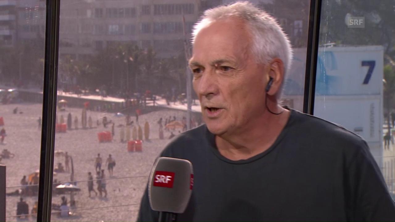 SRF-Korrespondent Leuthold zum Verhalten der Brasil-Fans