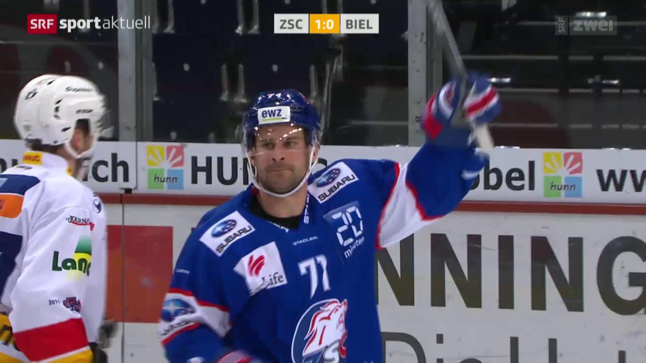 Eishockey: NLA, 15. Runde, ZSC Lions - Biel