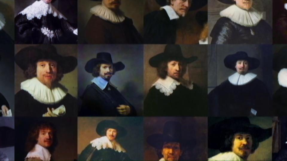 Künstliche Intelligenz malt wie Rembrandt