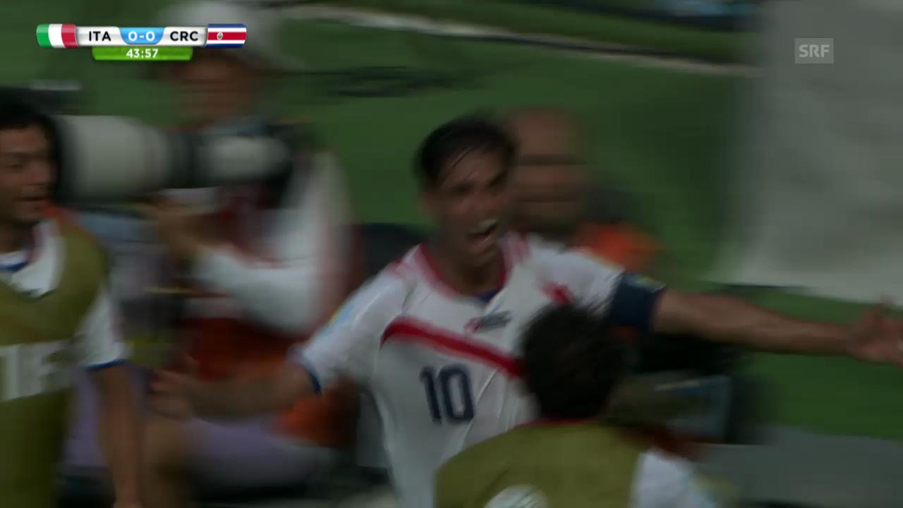 FIFA WM 2014: Italien - Costa Rica: Die Live-Highlights