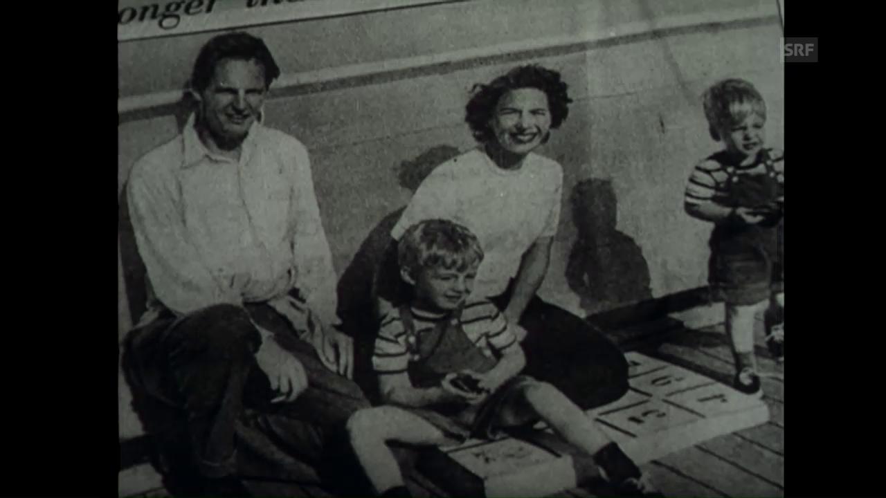 «Der Fall MacLean», Schweizerische Filmwochenschau vom 25.9.1953